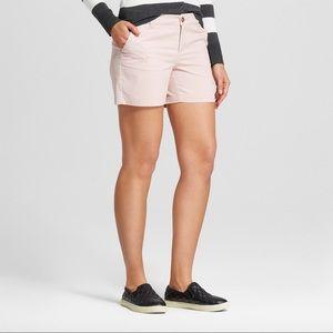 "Woman's 5"" Chino Shorts - Merona || Pink"